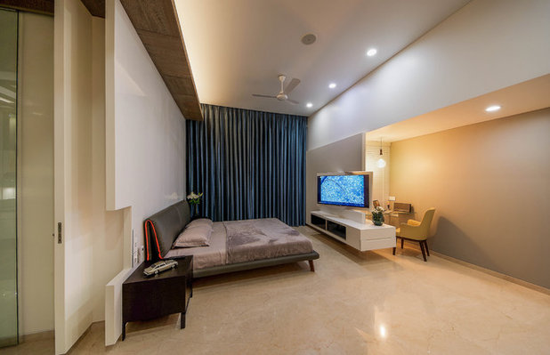 Contemporary Bedroom by TAO Architecture Pvt. Ltd.