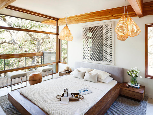 Asian Bedroom by MAS Design