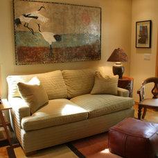 Asian Bedroom by Meredith Rebolledo Interior Design