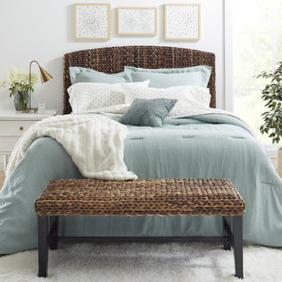 Inspiration for a modern bedroom remodel in Minneapolis