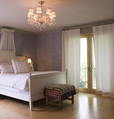 traditional bedroom by JP&CO. Samantha Grose, Designer