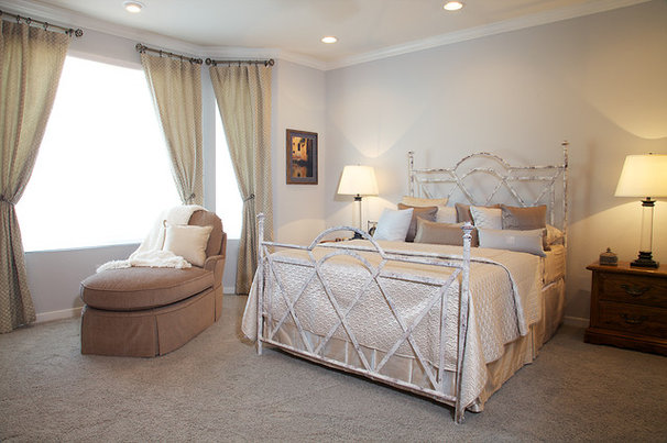Contemporary Bedroom by Kerrie L. Kelly