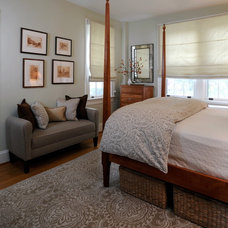 Traditional Bedroom by bossy color | Annie Elliott interior design