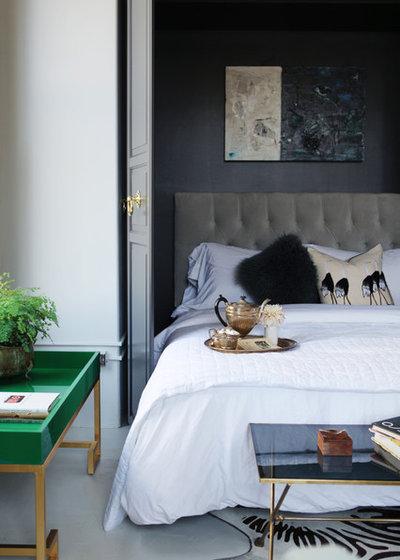 Современный Спальня by Caitlin & Caitlin Design Co.