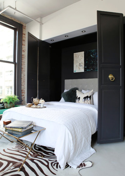 Contemporary Bedroom by Caitlin & Caitlin Design Co.