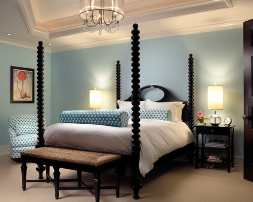 Blue Master Bedroom Designs light blue master bedroom | houzz