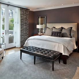 traditional bedroom by Morgan Howarth Photography