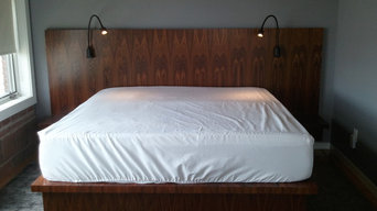 South American Rosewood Bed