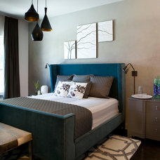 Eclectic Bedroom by Robin Colton Studio