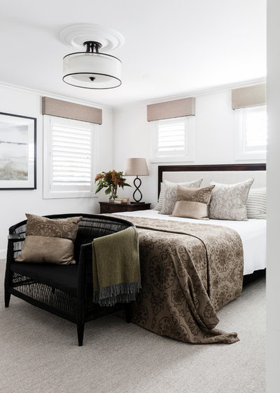 Transitional Bedroom by Studio Kate