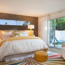 Midcentury Bedroom by Joel Dessaules Design