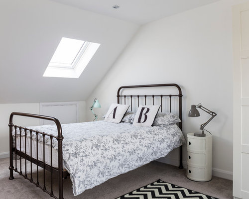 landhausstil schlafzimmer mit teppichboden ideen design bilder. Black Bedroom Furniture Sets. Home Design Ideas