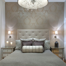 Contemporary Bedroom by Kristine Mullaney Design, LLC