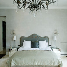 Contemporary Bedroom by Louise Jones