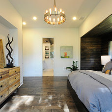 Contemporary Bedroom by Roost Custom Homes, LLC