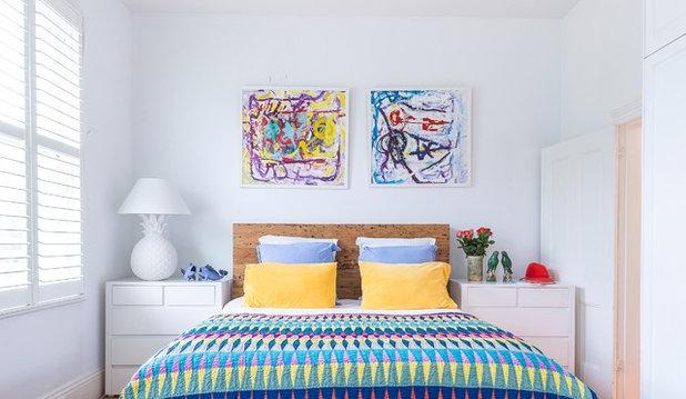 Eklektisch Schlafzimmer by Studio Stamp