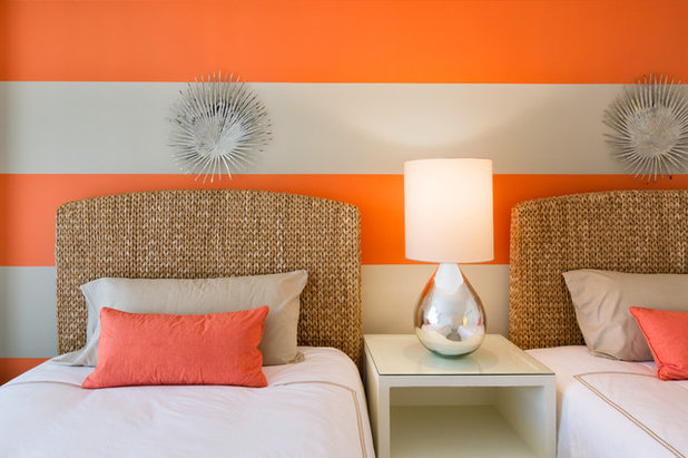 Beach Style Bedroom by HomeLife Interiors Inc