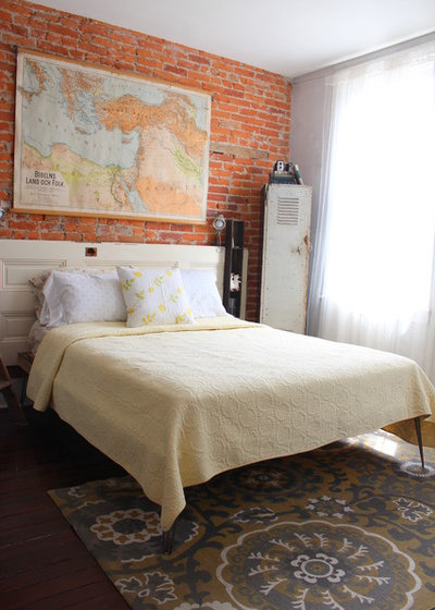 Eclectic Bedroom by Sara Bates