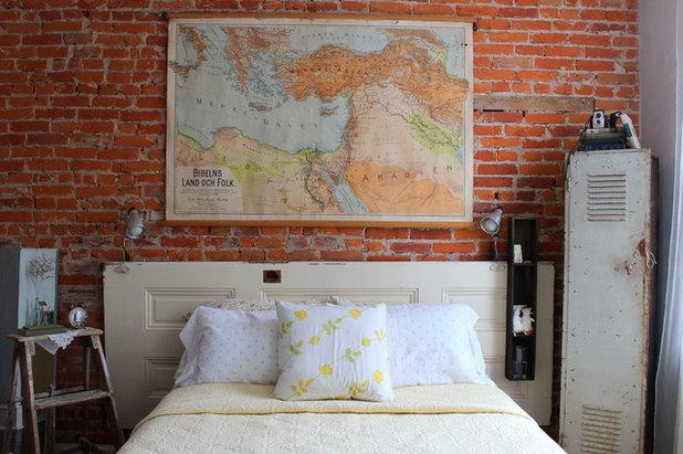 Shabby-chic Style Bedroom by Sara Bates