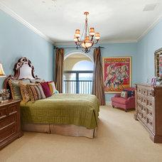 Mediterranean Bedroom by Las Casitas Architecture & Interiors, Inc.