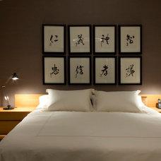 Modern Bedroom by ZWADA home
