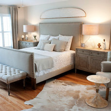 Transitional Bedroom by The Blue Moon Trading Company