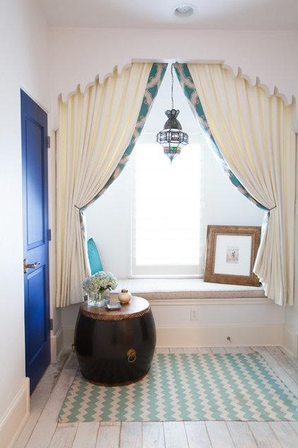 Mediterranean Bedroom by Laura U, Inc.