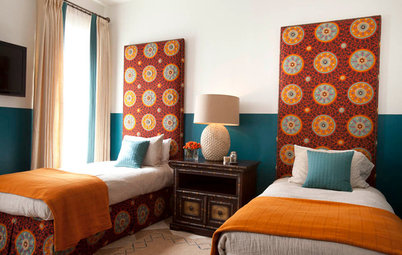 12 Ways to Celebrate a Fabulous Patterned Headboard