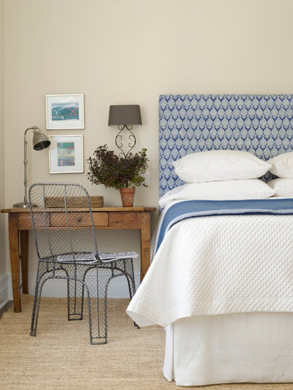 Transitional Bedroom by Orrick & Company