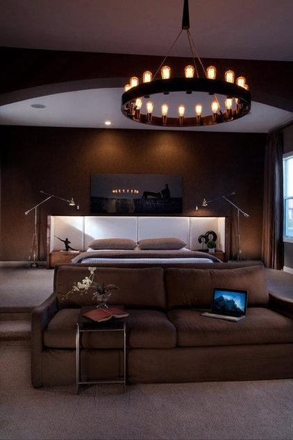 Eclectic Bedroom by Kevin Eston Design