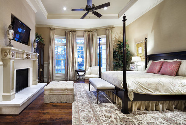 Traditional Bedroom by JAUREGUI Architecture Interiors Construction