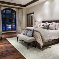 Mediterranean Bedroom by JAUREGUI Architecture Interiors Construction