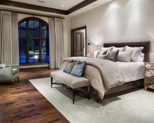 mediterrane schlafzimmer mit grauen wänden - ideen, design & bilder