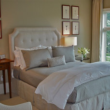 Transitional Bedroom by Savant Design Group