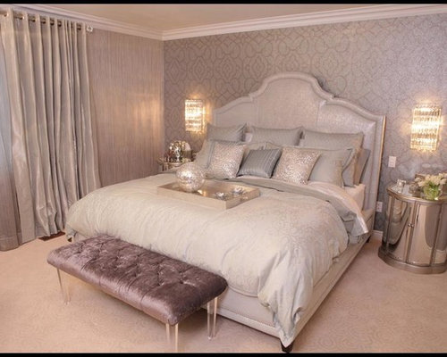 Example Of A Trendy Bedroom Design In Toronto