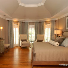 Contemporary Bedroom by Home Expressions Interiors by Laura Bloom Inc.