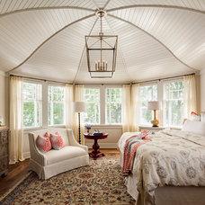 Farmhouse Bedroom by David Bader Photography