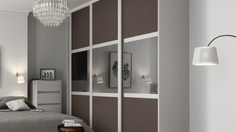 SpacePro Sliding Wardrobe Doors by Bedrooms Plus