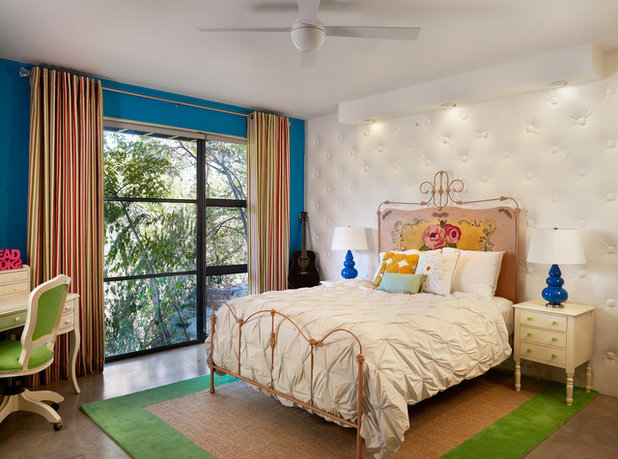 Eclectic Bedroom by Spaces Designed, Interior Design Studio, LLC