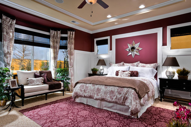 Traditional Bedroom by McCaffrey Homes
