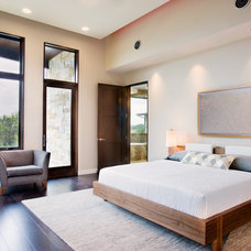 Contemporary Bedroom by Shoberg Custom Homes