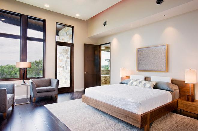 Contemporary Bedroom by Shoberg Custom Homes