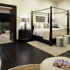 Mediterranean Bedroom by JAUREGUI Architecture Interiors Construction