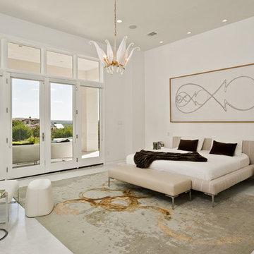 Spanish Oaks Residence Master Bedroom