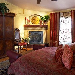 Eclectic bedroom in Minneapolis.
