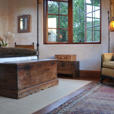 Traditional Bedroom by Melanie Giolitti Interior Design