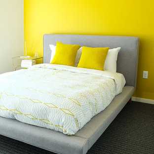 Inspiration For A Small Modern Bedroom Remodel In Seattle