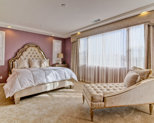 purple bedroom mediterranean matching - photo #4