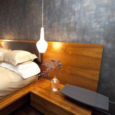 Asian Bedroom by Amelie de Gaulle Interiors