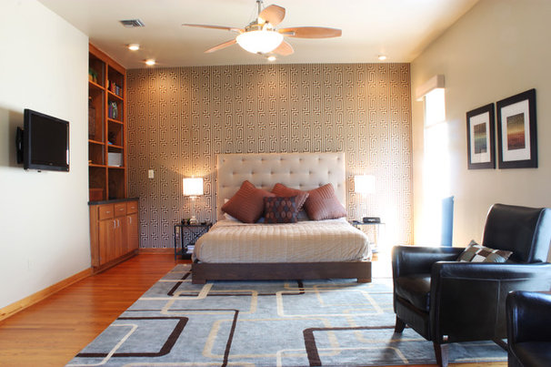 Contemporary Bedroom by Adam Breaux